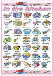 kitchen tools and equipment english teaching worksheets kitchen utensils equipment