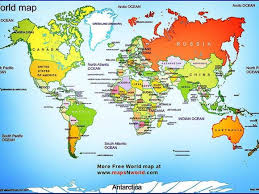 map continents continents and oceans by edrh23 teaching resources tes