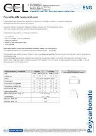 Property Manager Job Description For Resume by Polycarbonate Honeycomb Cel Components S R L Pdf Catalogue