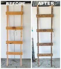 24 Ladder Bookshelf Plans Guide by Diy Quilt Ladder Quilt Ladder Ladder And Quilt