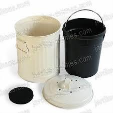 poubelle compost pour cuisine acheter poubelle de table à compost 3l avec eco sapiens