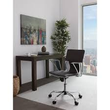 Office Star Computer Desk by Office Star Dorado Office Chair With Fixed Padded Arms And Chrome