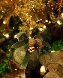 tissue paper covered ornaments martha stewart