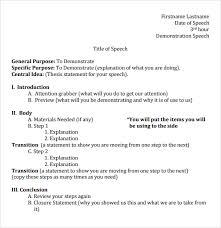 impromptu speech template individual persuasive speech