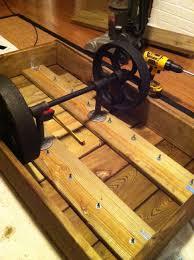 factory cart table diy restoration hardware inspired u2013 the