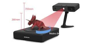 scanner de bureau rapide modélisation et scan 3d 5d normandie