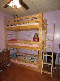 Three Tier Bunk Bed Bunk Beds Three Quarter Bunk Bed Tier Bunk Beds