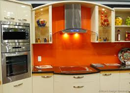 orange kitchen ideas wonderful two tone kitchen cabinets pictures options tips