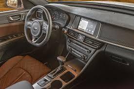 Kia Optima Interior Colors 2016 Kia Optima Test Drive Racier Style Improved Interior New