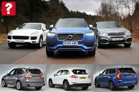 porsche cayenne vs bmw x5 bmw x5 vs porsche cayenne vs volvo xc90 what car