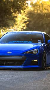 sport subaru brz download wallpaper 750x1334 subaru brz blue front sports car