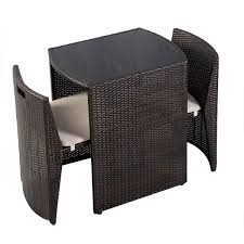 Ebay Patio Furniture Sets - 3 pcs wicker patio cushioned outdoor seat outdoor furniture sets
