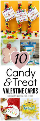 valintine cards cards for kids 10 candy and treat ideas