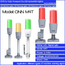 24vdc led indicator light onn m4t cnc machine signal tower l led indicator lighting 24v