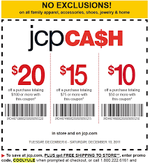 jcpenney april may june coupons coupon codes blog