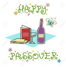passover items happy passover sign stylized passover sign with passover seder