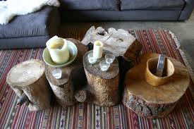 25 rustic home decor ideas you can build yourself the art in life 1 tree trunk coffee tables