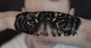 tiger eye tattoo realistic tattoo bern tattoo schweiz