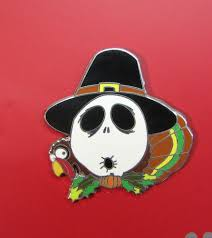 thanksgiving pins disney pin skellington nightmare mystery collection
