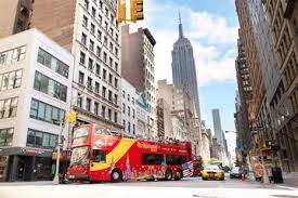 new york package including hop on hop tour observatory