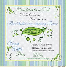 two peas in a pod baby shower peas in a pod baby shower invitations