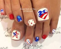10 4th of july toe nail art designs u0026 ideas 2016 fourth of july