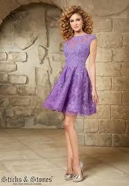 short purple cocktail dresses