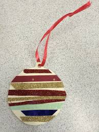 recycled paper christmas bauble draw a bauble template on card