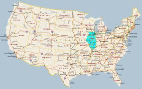 Illinois Map by Maps Of Usa All Free Usa Maps