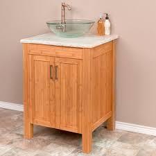 Bamboo Bathroom Cabinet Bathroom Sink Narrow Bathroom Vanities Vanity Sink Bamboo