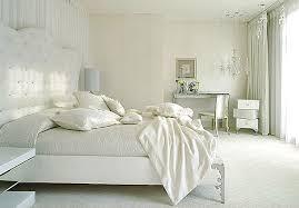 deco chambre blanche chambre adulte blanc