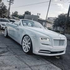 roll royce forgiato rdbla two tone white dawn rdb la five star tires full auto