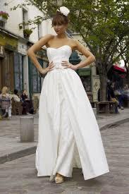 mae u0026 detachable skirt wedding dress from stephanie allin couture