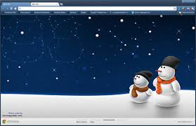 winter themes for chrome firefox and explorer brand