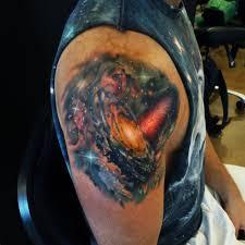 galaxy shoulder tattoo tattoos2 pinterest shoulder tattoo