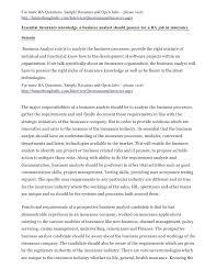 sample resume for senior business analyst technical business analyst resume u2013 foodcity me