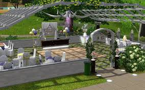 wedding arches in sims 3 mod the sims the chapel weddings and receptions updated
