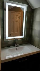 bathroom mirrors best led illuminated bathroom mirror cabinet