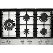 Gas Cooktop 90cm Electrolux Ehg755sa 75cm Gas Cooktop At The Good Guys