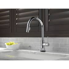 delta faucet 9159t dst trinsic polished chrome pullout spray