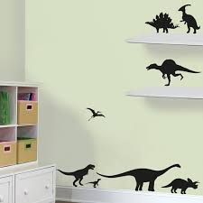 dinosaur wall stickers wall art wallpaper cuckooland dinosaurs wall vinyl sticker pack jpg