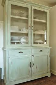 rustic vintage kitchen dresser hutch buffet sideboard shabby chic