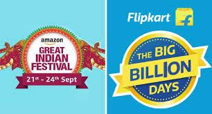 battle of e commerce sale begins with flipkart and amazon