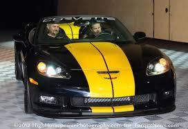 black and yellow corvette fieri s chevrolet corvette 427 convertible collector edition