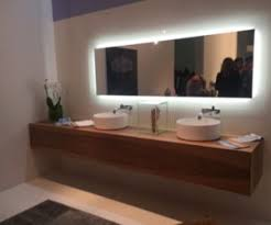 Mirror Bathrooms Backlit Mirrors The Focal Points Of The Modern Bathrooms