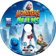 monsters aliens 2009 3d 3d hsbs movies