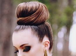 hair buns hair buns updo for medium hair styles ideas 44868