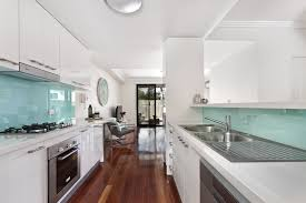 galley style kitchen with island 35 beautiful white kitchen designs with pictures designing idea