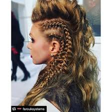 hair styles for viking ladyd mohawk hair hairstyle hairdo on instagram