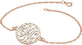 Gold Personalized Bracelets Personalized Bracelets Applesofgold Com